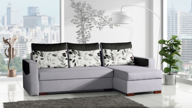 oslo corner sofa bed