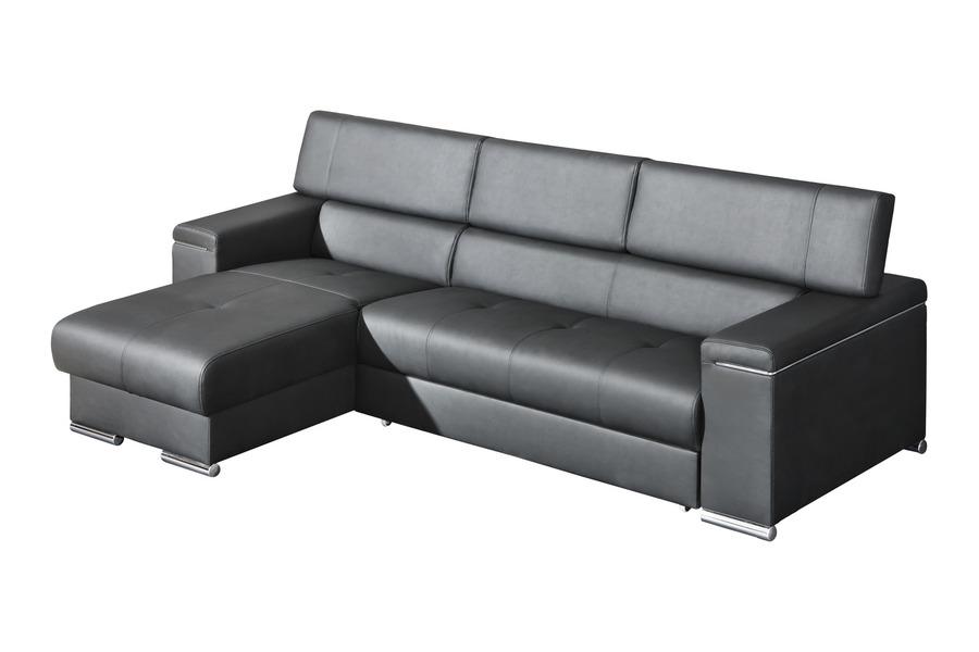 J D Furniture Sofas And Beds SILVER I CORNER SOFA BED