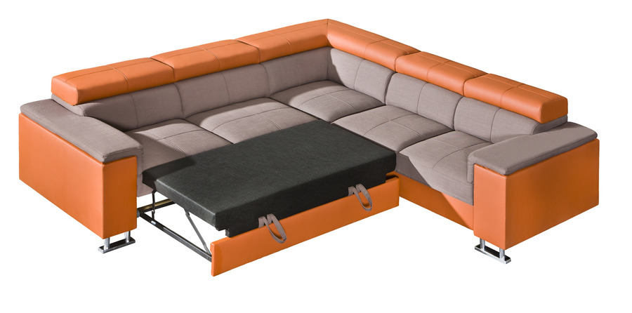 J D Furniture Sofas And Beds Boston Ii Corner Sofa Bed