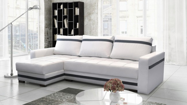milton corner sofa bed