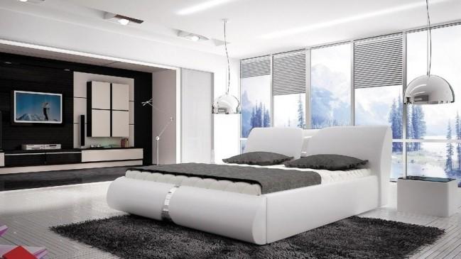 round bed frame
