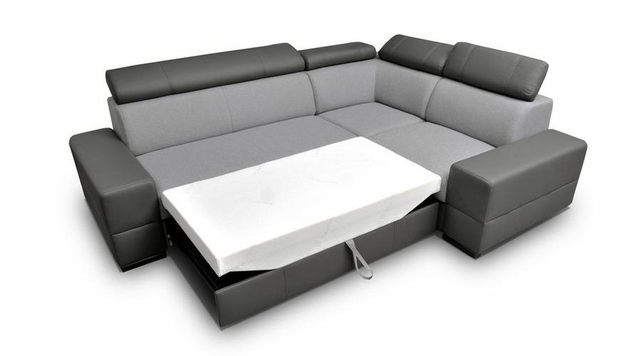 Bolzano Corner Sofa Bed Prev