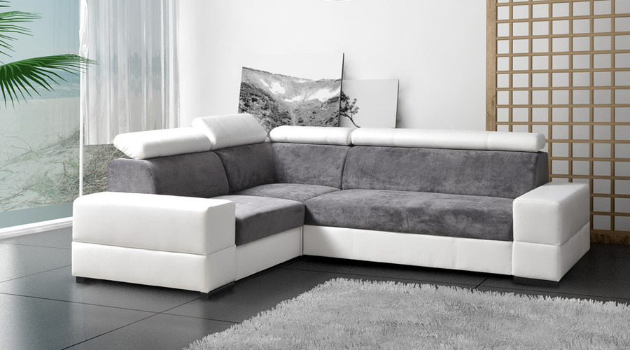 JampD Furniture Sofas And Beds BOLZANO CORNER SOFA BED