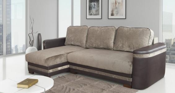 palermo corner sofa bed