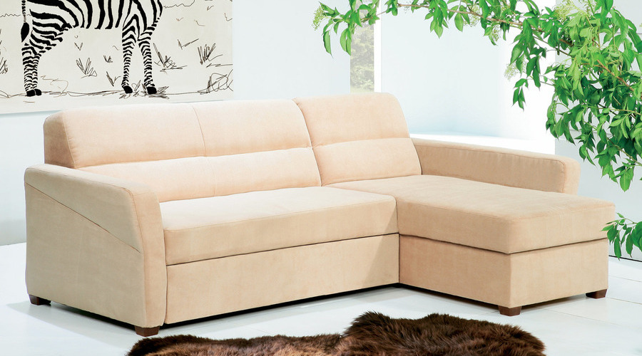 J&D Furniture | Sofas and Beds | LIVIA CORNER SOFA BED