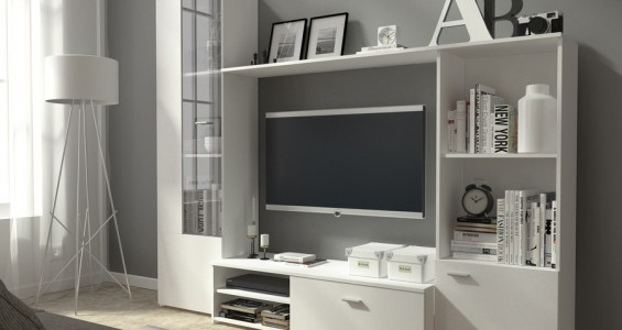 hugo furniture system white
