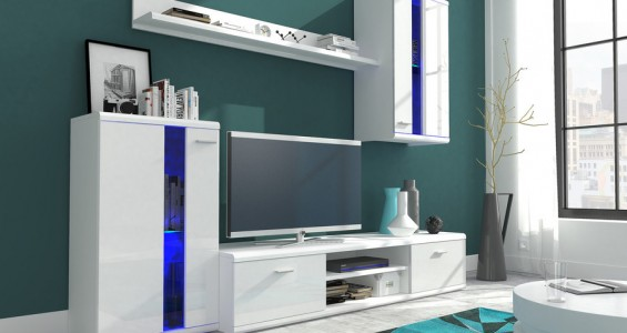 life furniture system white glos