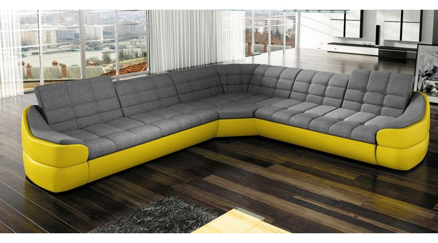 J D Furniture Sofas And Beds Infinity L Corner Sofa
