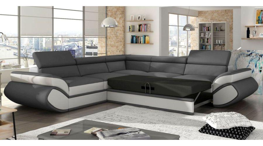 J Amp D Furniture Sofas And Beds Genesis L Corner Sofa Bed