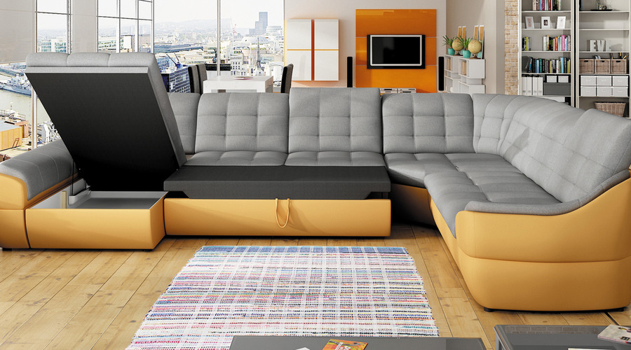 J Amp D Furniture Sofas And Beds Infinity Xl Corner Sofa Bed