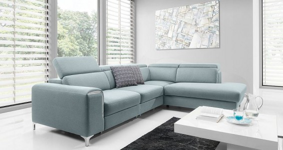Genova corner sofa bed