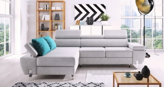 molina corner sofa bed