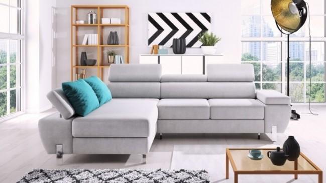 molina corner sofa bed
