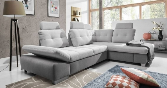 cremona L corner sofa bed