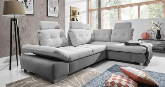 cremona L corner sofa bed