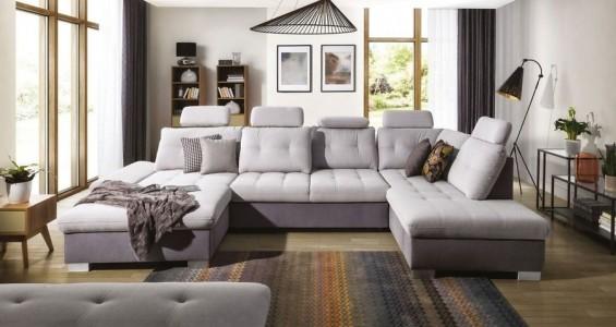 cremona XL corner sofa bed