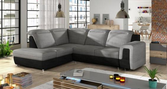 panama L corner sofa bed