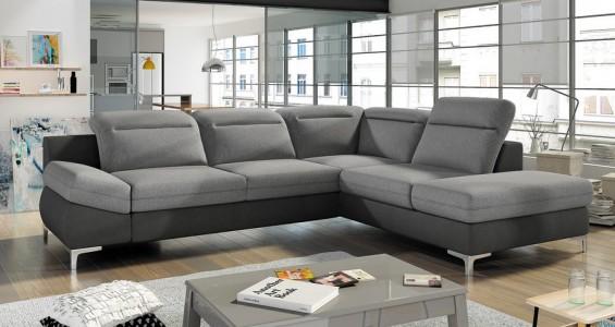 timola L corner sofa bed
