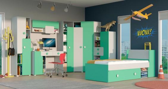 yuko kids system furniture