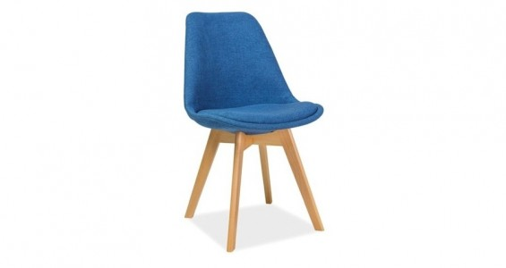 dior beech dining chair