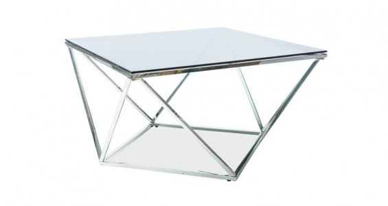 silver A coffee table