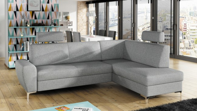rino corner sofa bed