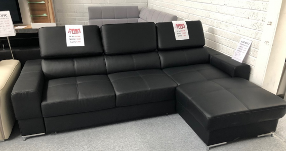 bazalt i corner sofa bed