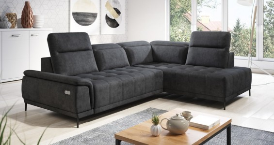 calvaro L corner sofa bed
