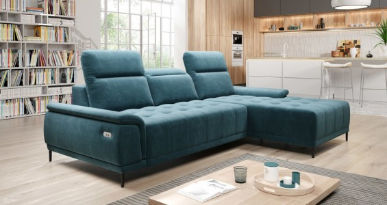 calvaro mini corner sofa bed