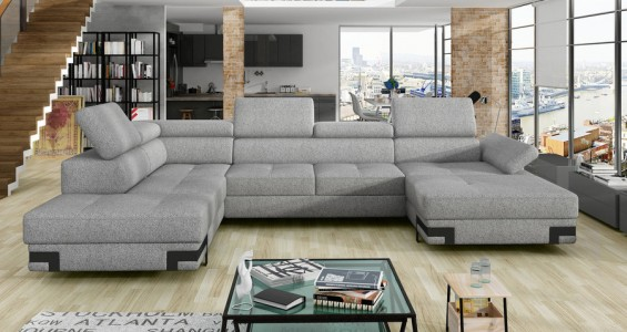 emporio xl corner sofa bed