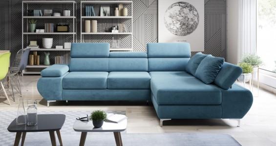 flame corner sofa bed