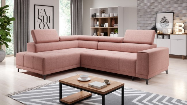 hugo L corner sofa bed