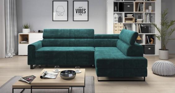 livio corner sofa bed