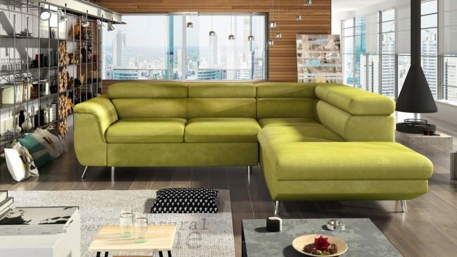 morgan L corner sofa bed