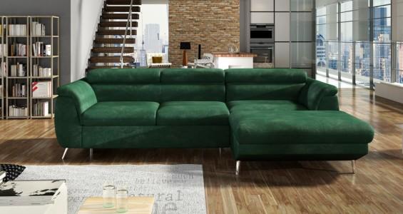 morgan mini corner sofa bed