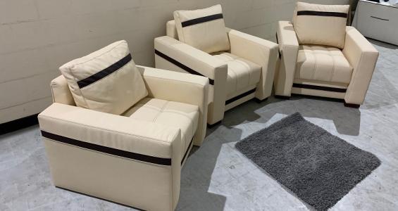 milton armchairs