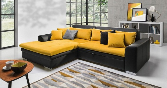 capri corner sofa bed