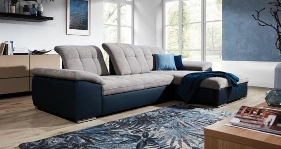 dunja corner sofa bed