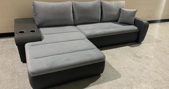 melo corner sofa bed