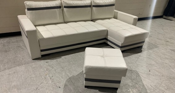 milton corner sofa bed