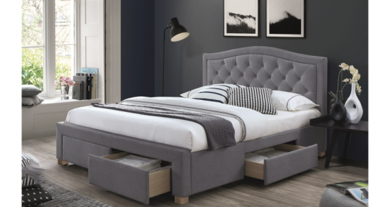 electra bed frame grey