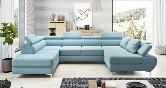 flame xl corner sofa bed