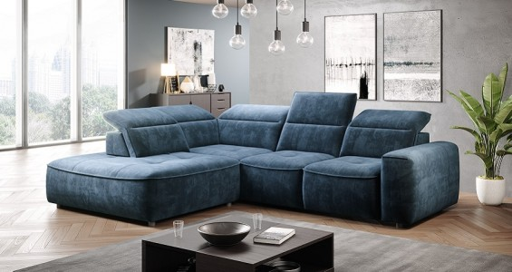 colombo L corner sofa bed