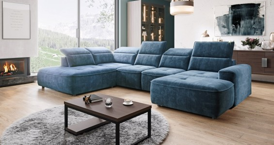 colombo xl corner sofa bed