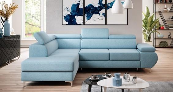 flame l corner sofa bed