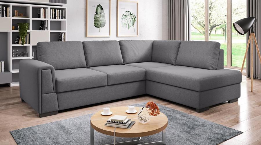 J&D Furniture   Sofas and Beds   LOGAN L CORNER SOFA BED