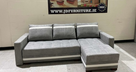 milton corner sofa bed 1