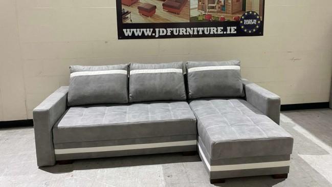 milton corner sofa bed 1