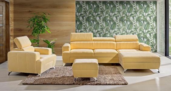 Primo corner sofa bed