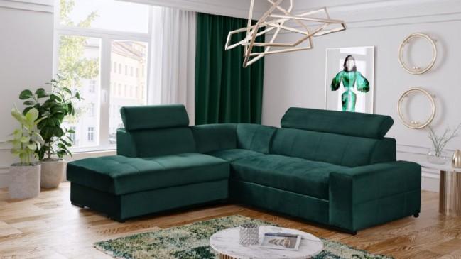 bormio corner sofa bed L